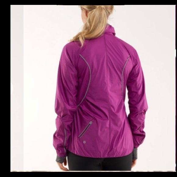 Lululemon run inspire jacket sz 4